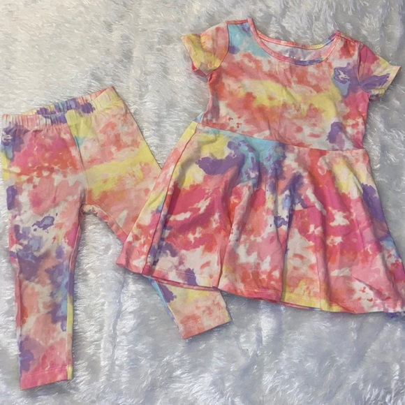 Children's Place Tie Dye Outfit
